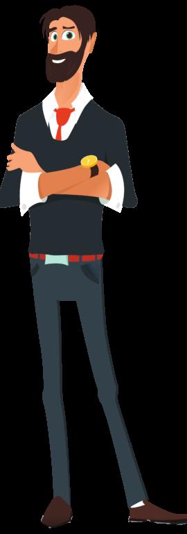 homme brun 3